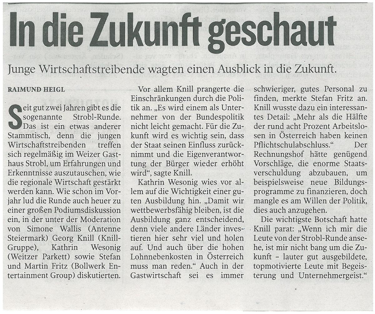Nachbericht_KleineZeitung_2014